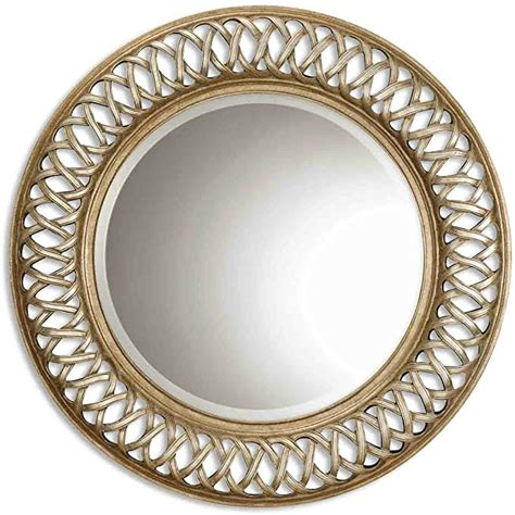 Amazon Com Uttermost 14028 B Entwined Mirror Antique .